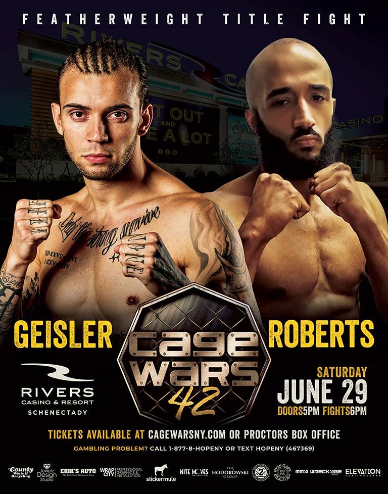 CW 42 Geisler vs Roberts