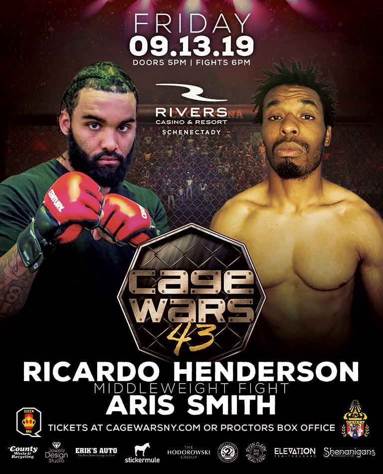 Cage Wars 43 Henderson vs Smith