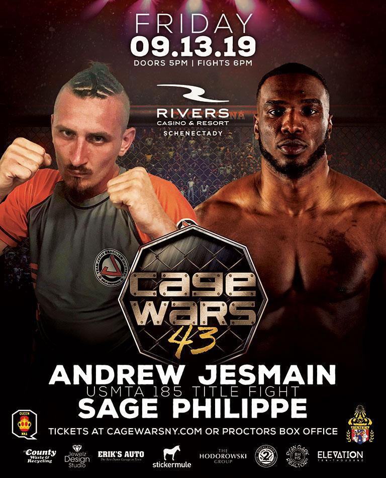 Cage Wars 43 Jesmain vs Philippe