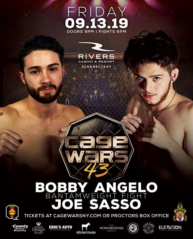 Cage Wars 43 Bobby Angelo vs Joe Sasso
