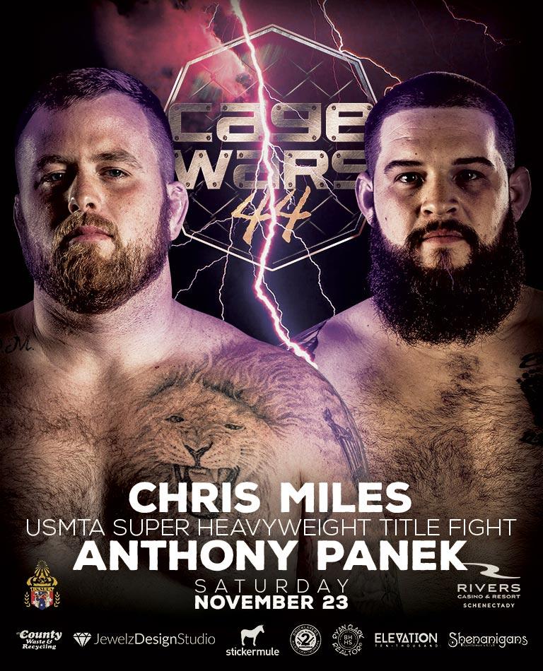 CW 44 Miles vs Panek