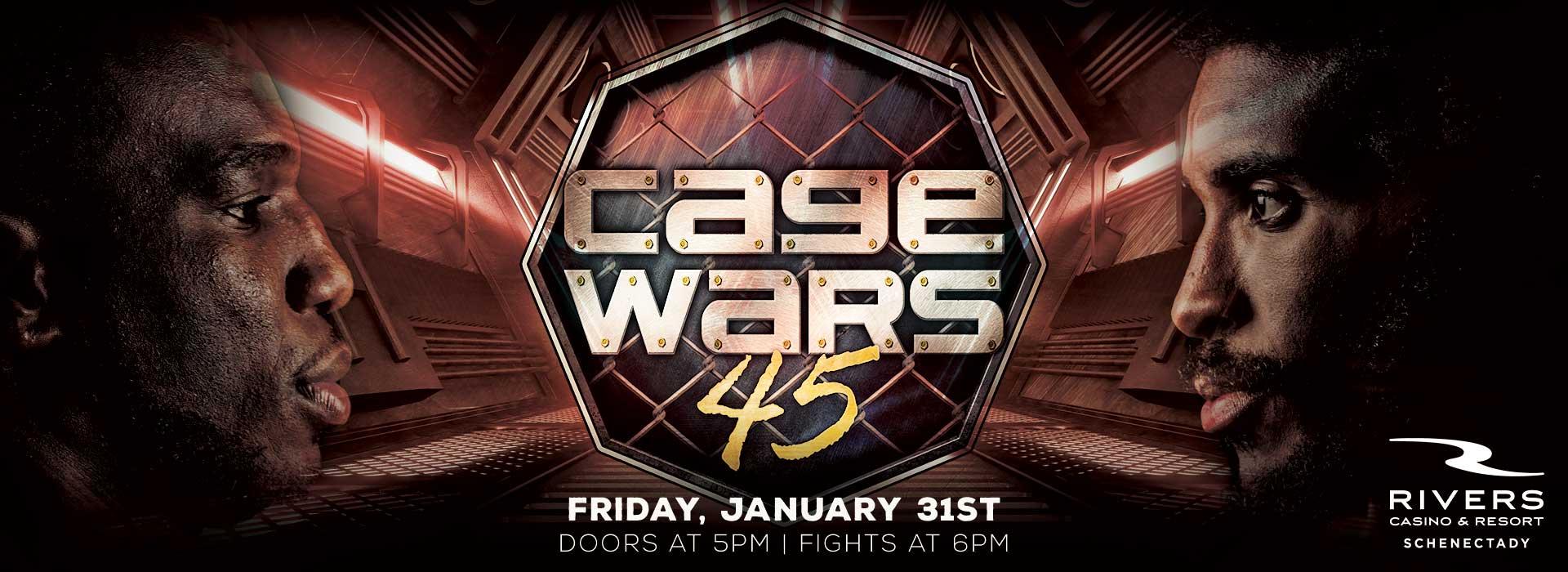 Cage Wars 45 Tickets