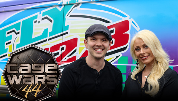 Cage Wars Team on the Fly 92 Morning Show
