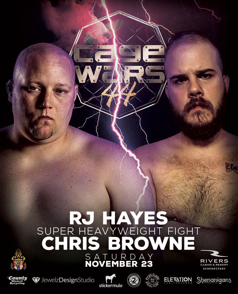 CW 44 Hayes vs Browne