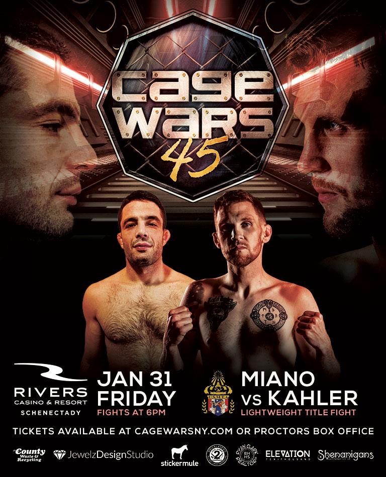 Bruce Miano vs Kyle Kahler