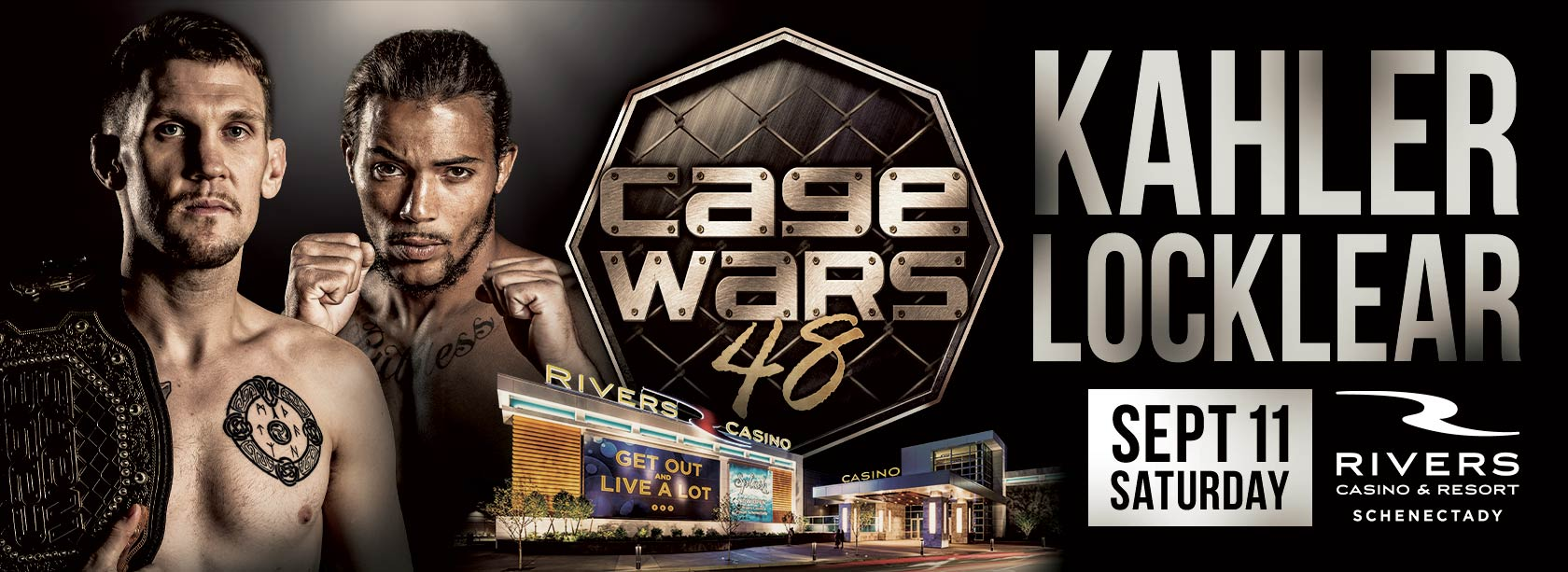 Cage Wars 48 at Rivers Casino